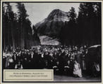 Picnic in Waterton, August 1923