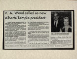 V.A. Wood Called as New Alberta Temple President