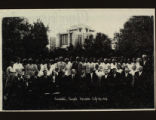Cardston Temple Workers, July 26, 1934