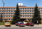 Lethbridge Municipal Hospital - South Elevation