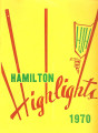 Hamilton Junior High School Highlights 1970