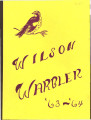 Wilson Junior High School Warbler 1964