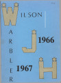 Wilson Junior High School Warbler 1967