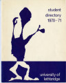 University of Lethbridge Student Directory 1971