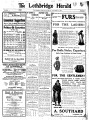 Lethbridge Herald (November 21, 1907)