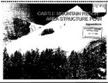 Castle Mountain Resort area structure plan - appendix