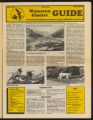 Waterton Glacier Guide (August 1, 1986)