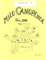 Milo Canopener (July 1, 1999)