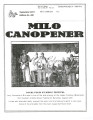 Milo Canopener (September 1, 2013)