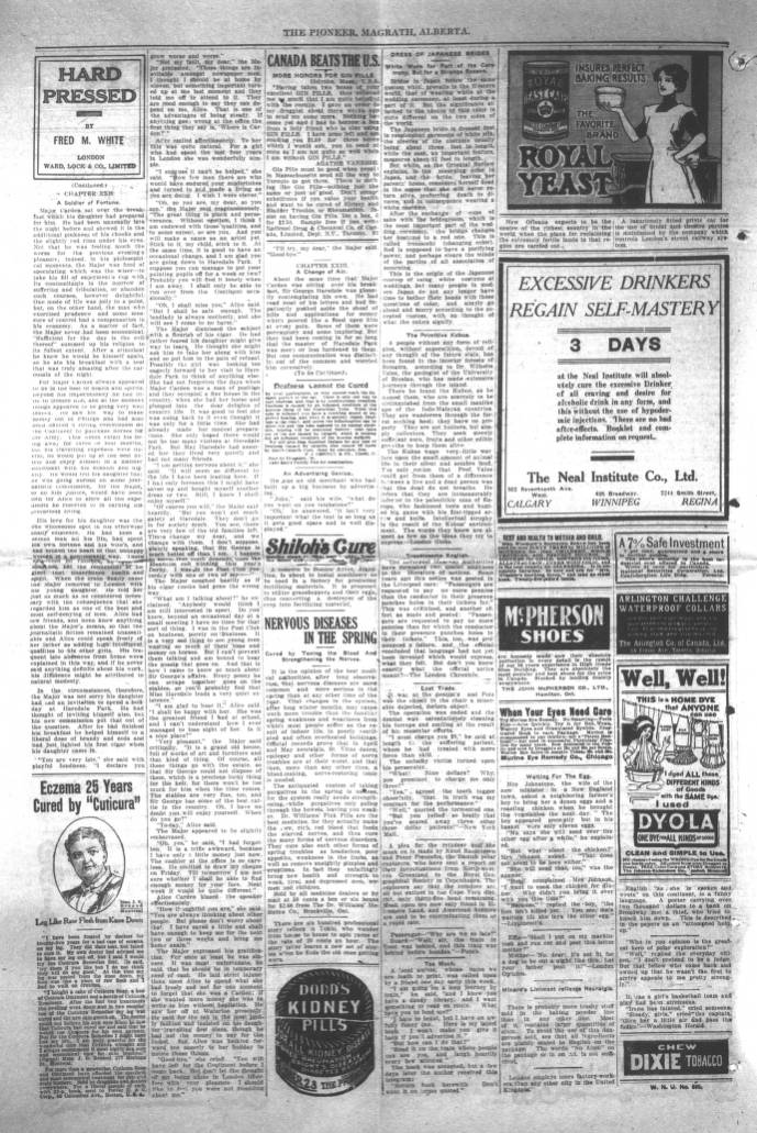 page 02 - Southern Alberta Newspaper Collection - University ... Job Application Form Template Australia Bbtn on