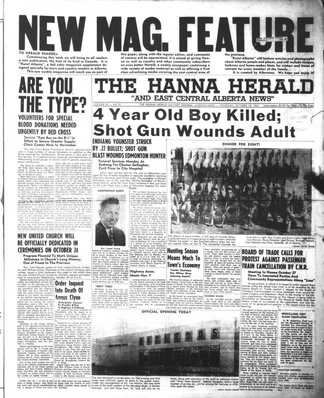 eb2b92d18e Hanna Herald - Southern Alberta Newspaper Collection - University of ...